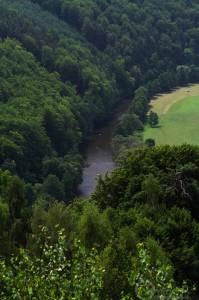 Nad údolím řeky Jizery...