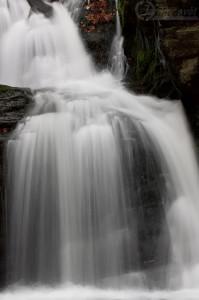 Rešovské vodopády - řeka Huntava