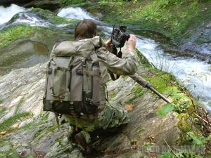 Fotografování Bílé Opavy - Na fotografii autor článku...