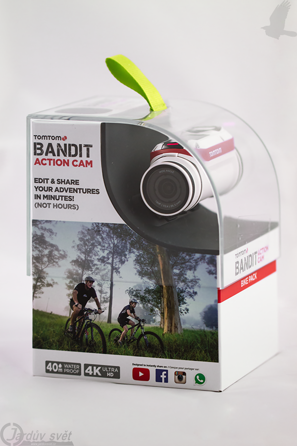 TomTom Bandit - Bike pack