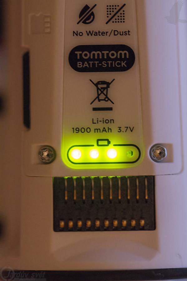 TomTom Bandit - Battery stick - Battery control